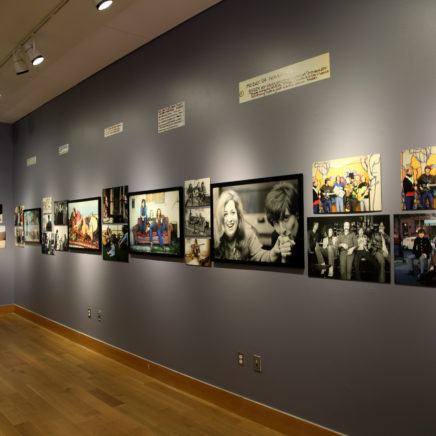 Roots, Rock, and Rebels: The Photography of Henry Diltz exhibit at the Woody Guthrie Center